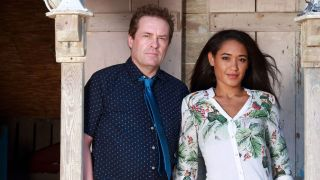 Death in Paradise Season 7 DI Jack Mooney with Florence