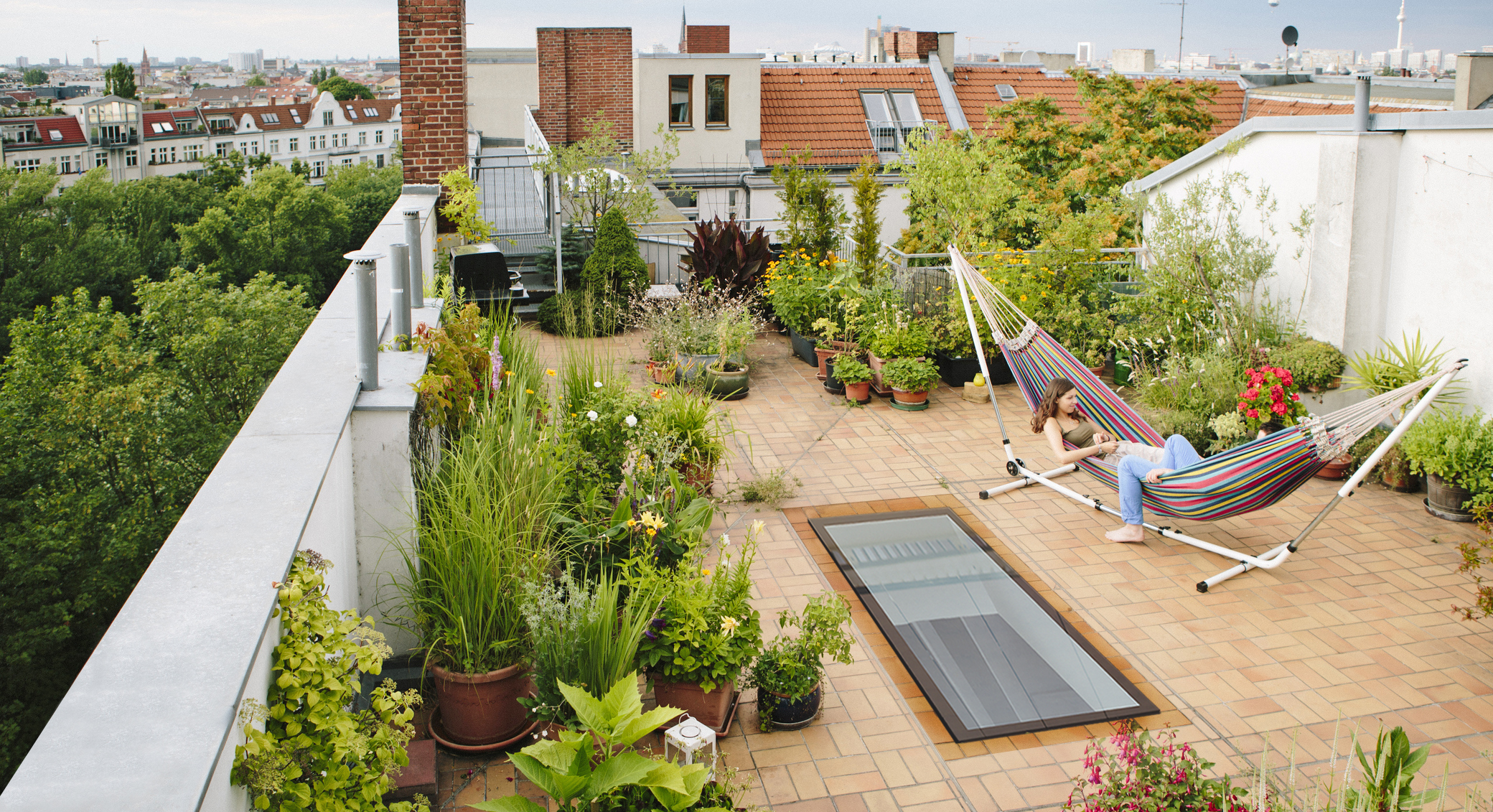 How To Design A Rooftop Garden | Real Homes
