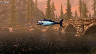 Skyrim fishing