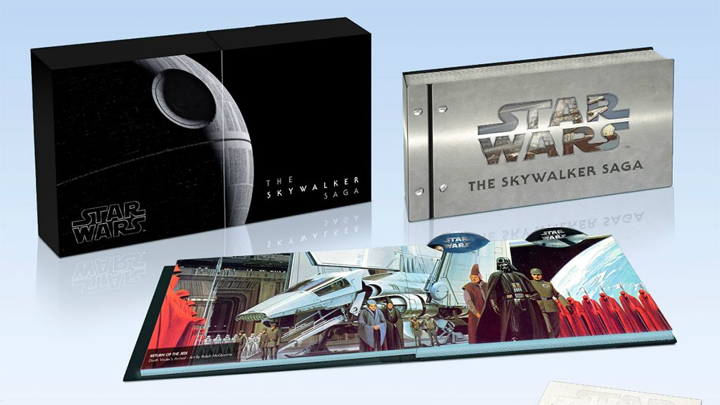 The entire Star Wars Skywalker saga is coming to 4K Ultra HD Blu-ray