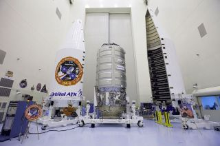 The S.S. Rick Husband Cygnus Spaceship