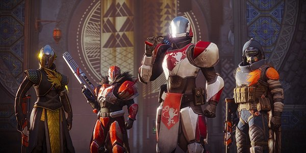 A group of Guardians in Destiny 2