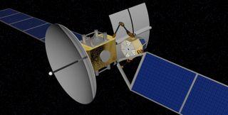 archinaut servicing satellite