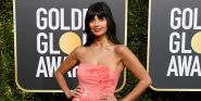 The Good Place's Jameela Jamil Was Misidentified On The Globes Red Carpet In The Best Way