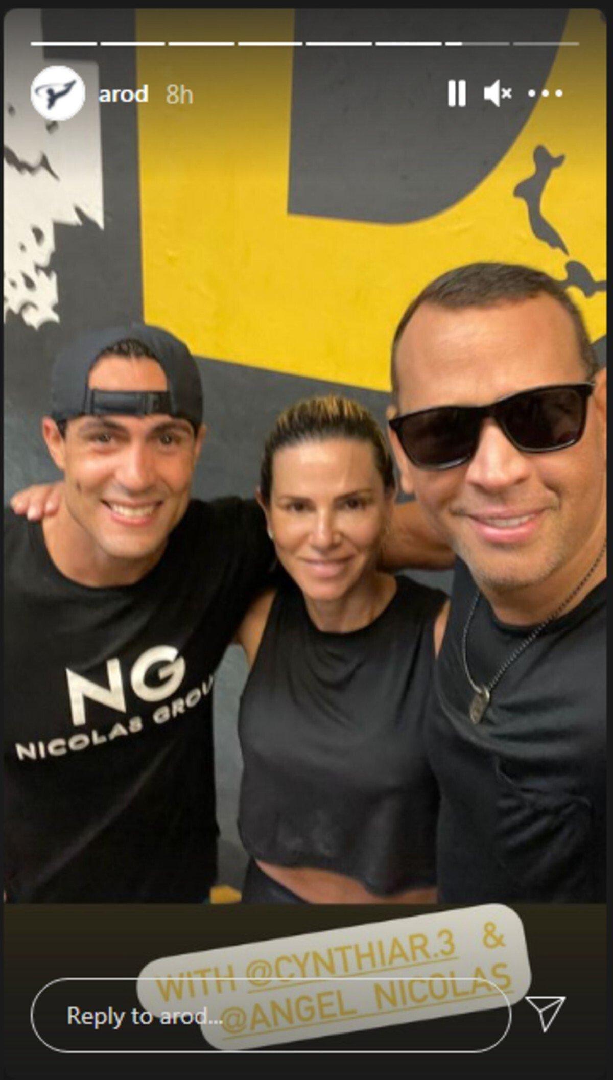 screenshot alex rodriguez with ex wife