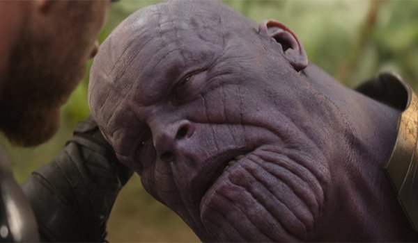 You should have gone for the head Avengers Infinity War