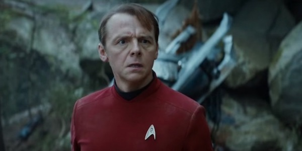 Quentin Tarantino Is 'Annoyed' With Simon Pegg's Comments About His Star Trek Movie