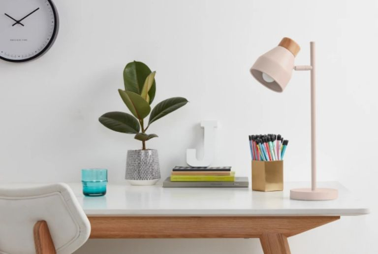 Home office by Made.com Albert Table Light
