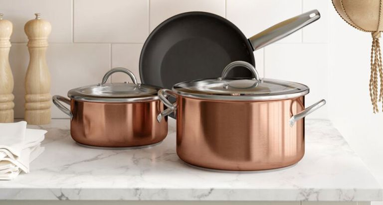Copper Pans - Gordon Ramsay's kitchen cookware