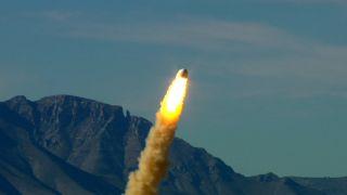 Blue Origin Crew Capsule Escape Test