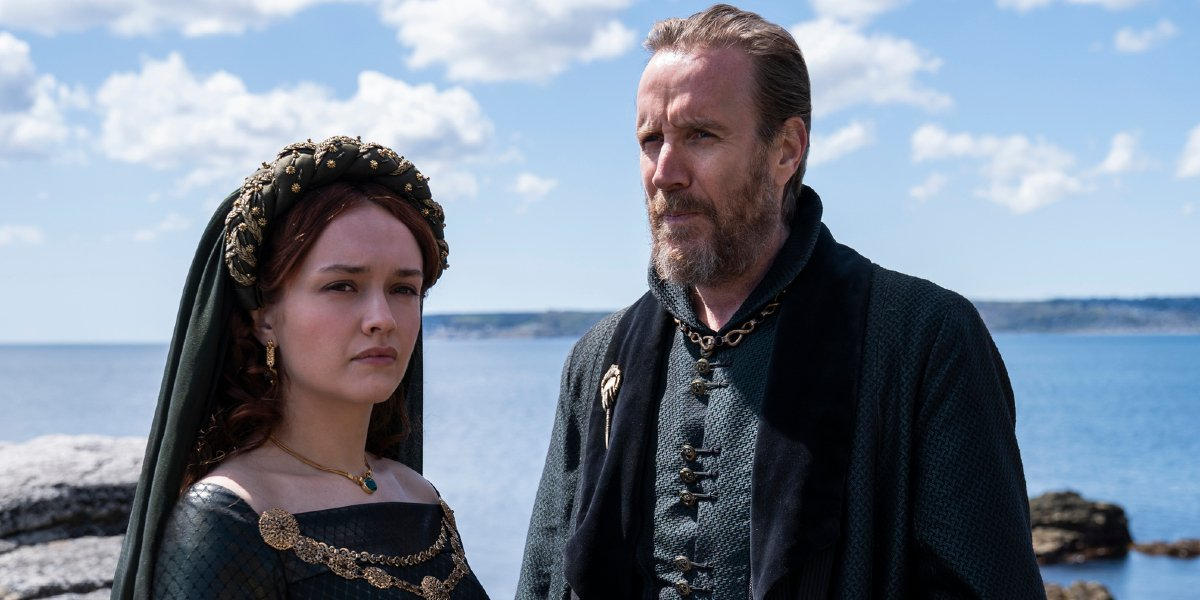Olivia Cooke Rhys Ifans on House of the Dragon