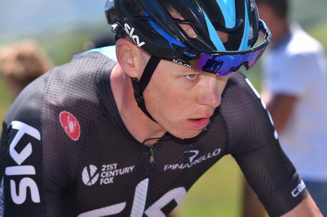 Full focus from defending champion Chris Froome