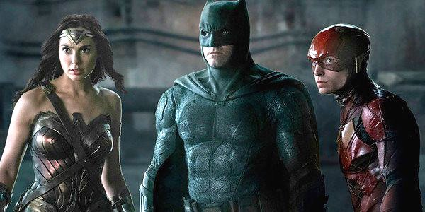 Wonder Woman Batman The Flash in Justice League DC DCEU Warner Bros.