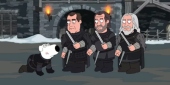 Watch Family Guy's Bloody And Ridiculous Game Of Thrones Gag