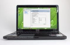 TOSHIBA Satellite A665 Series A665-S5199X Laptop Harman//Kardon® STEREO Speakers