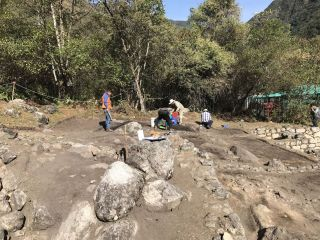 Chachabamba excavation