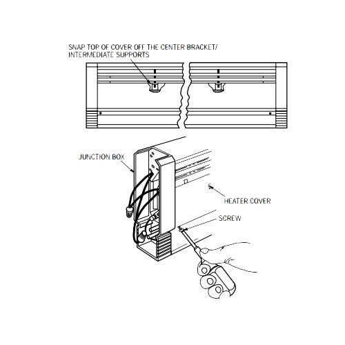daisy chain wiring diagram elecrtic heater