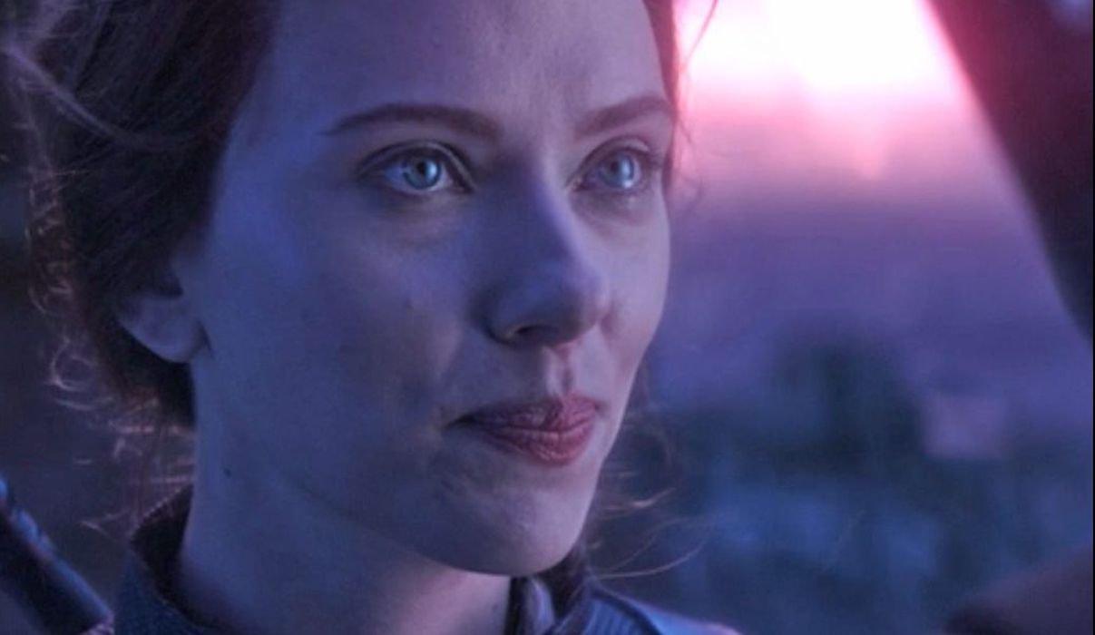 Black Widow on Vormir in Avengers: Endgame