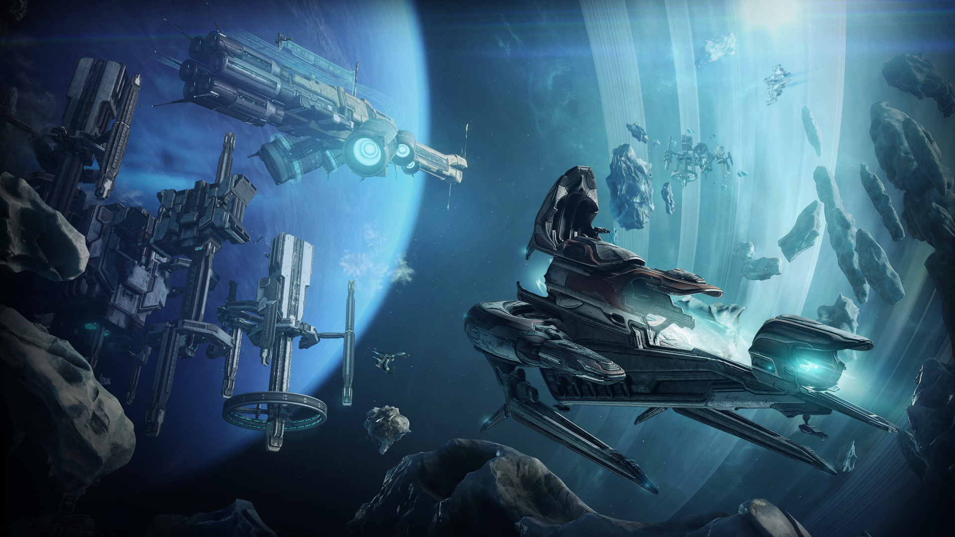 Warframe completely overhauls its contentious space combat