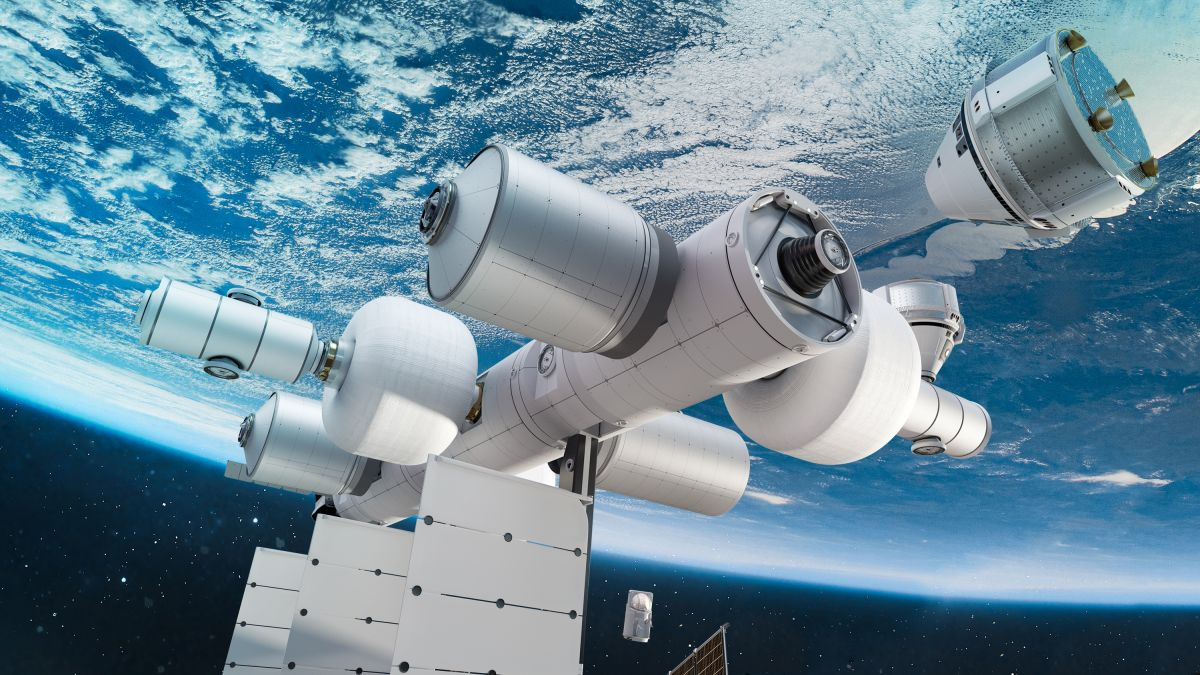 Blue Origin unveils plans to build a private space station called Orbital Reef by 2030