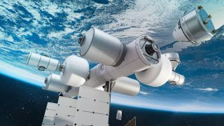 Blue Origin has teamed up with Sierra Space, Boeing and others to build Orbital Reef, a private space station, to begin flying by the end of the 2020s.