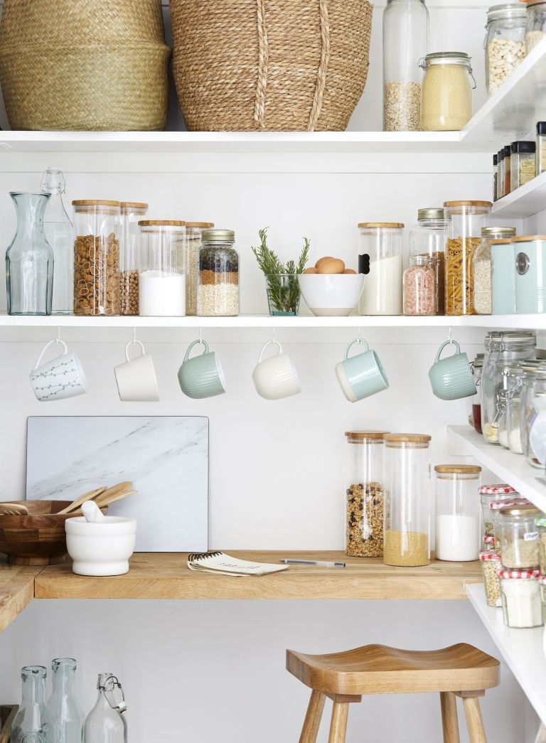 Small Kitchen Storage Ideas 17 Ways To Declutter Your Space Real Homes