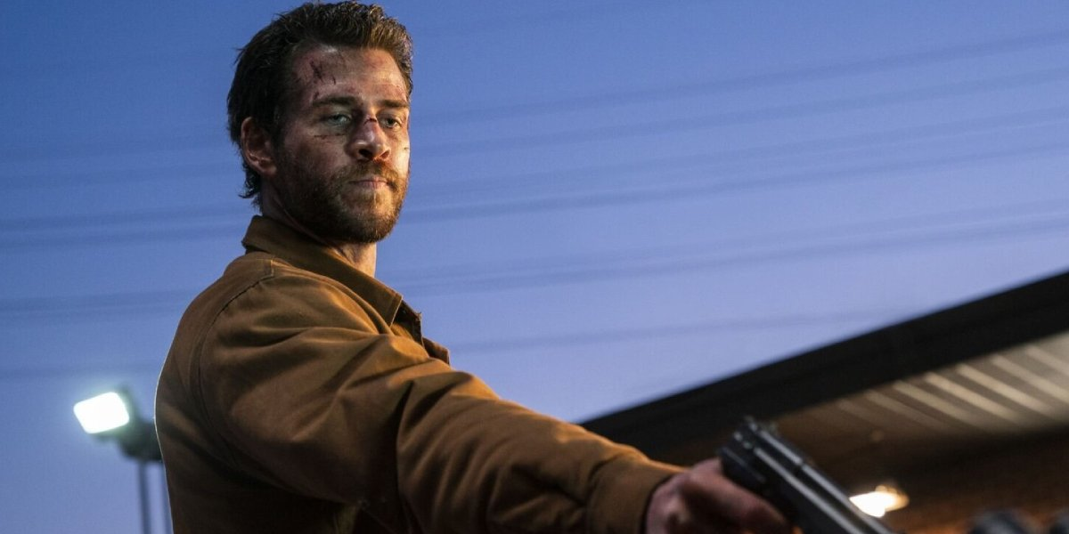 Liam Hemsworth in the Quibi series adaptation of The Most Dangerous Game