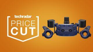cheap HTV Vive Pro VR headset price cut deals sales