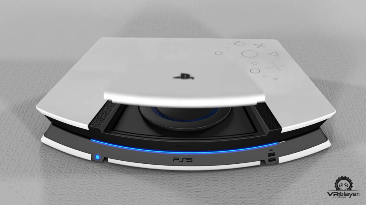 PS5 patent teases the console's design and clever cooling