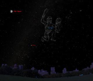 Sirius Sky Map February 2013