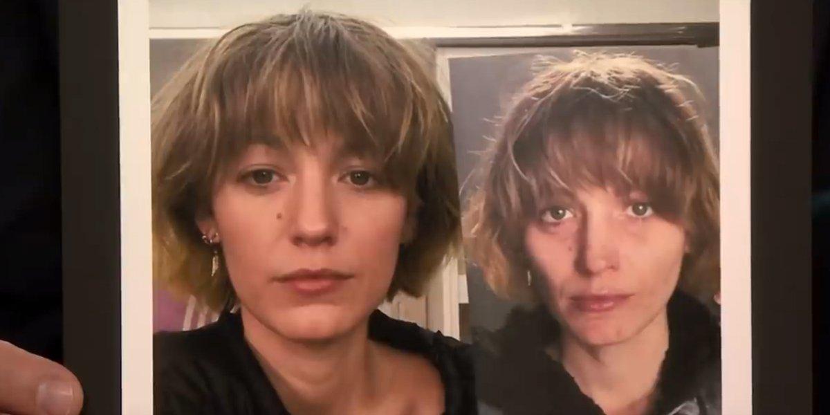 Blake Lively makeup photos shown on The Tonight Show NBC