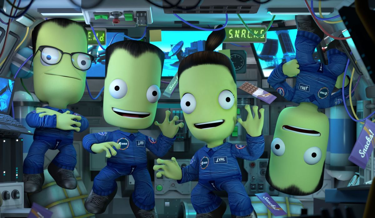 Kerbal Space Program joins with the European Space Agency for new missions and more