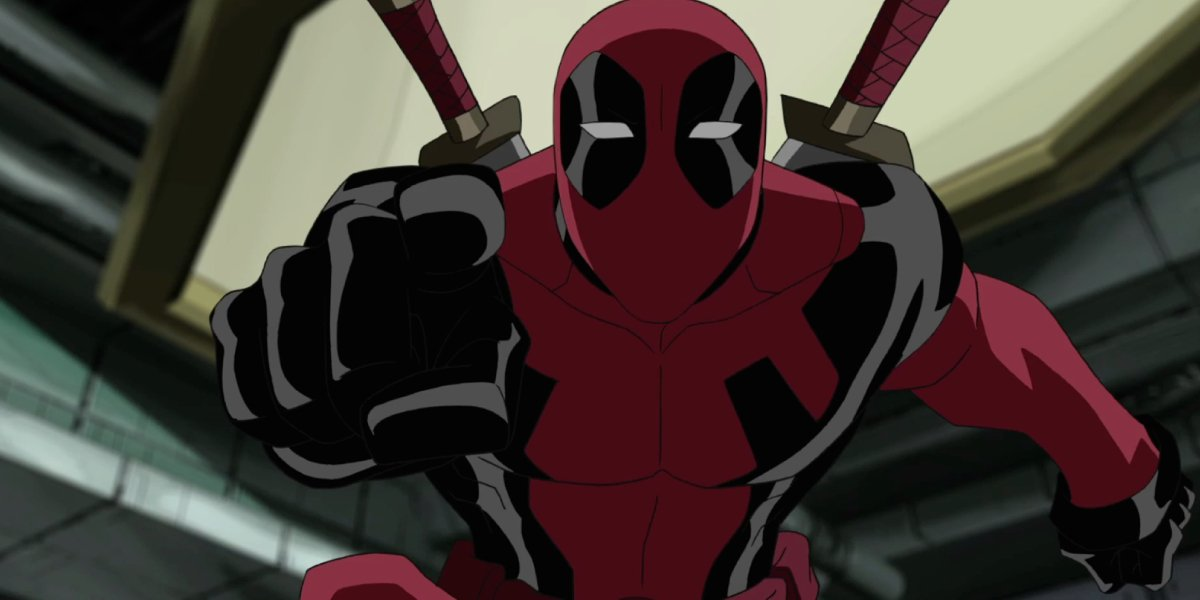 Deadpool on the animated Ultimate Spider-Man series