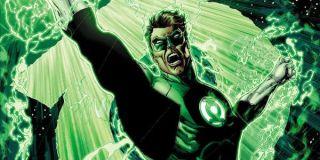 Hal Jordan as Green Lantern in DC Comics