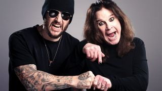 Ozzy Osborne and M Shadows