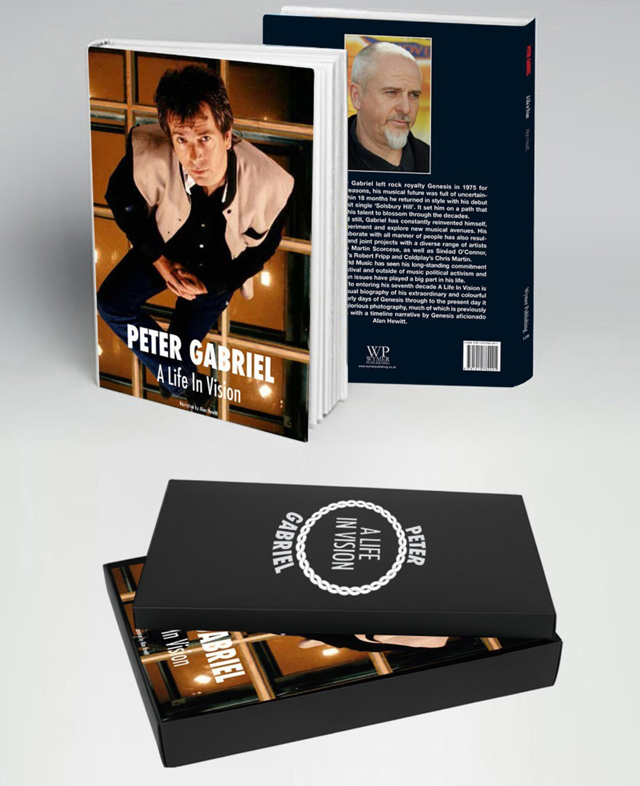 Peter Gabriel photo book will explore singer's career from Genesis to present day   Louder