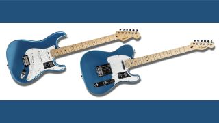 Make a massive 38% saving on these limited edition Fender Player Strats and Teles