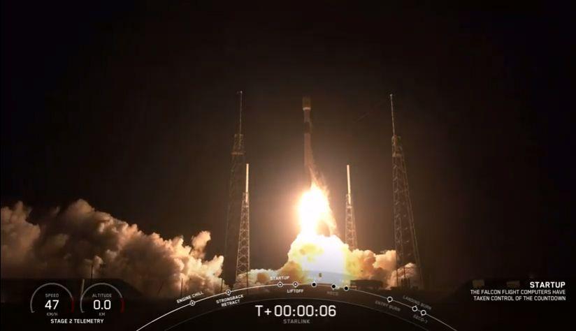 SpaceX Launches 60 Starlink Satellites on Thrice-Flown Rocket, Sticks Landing