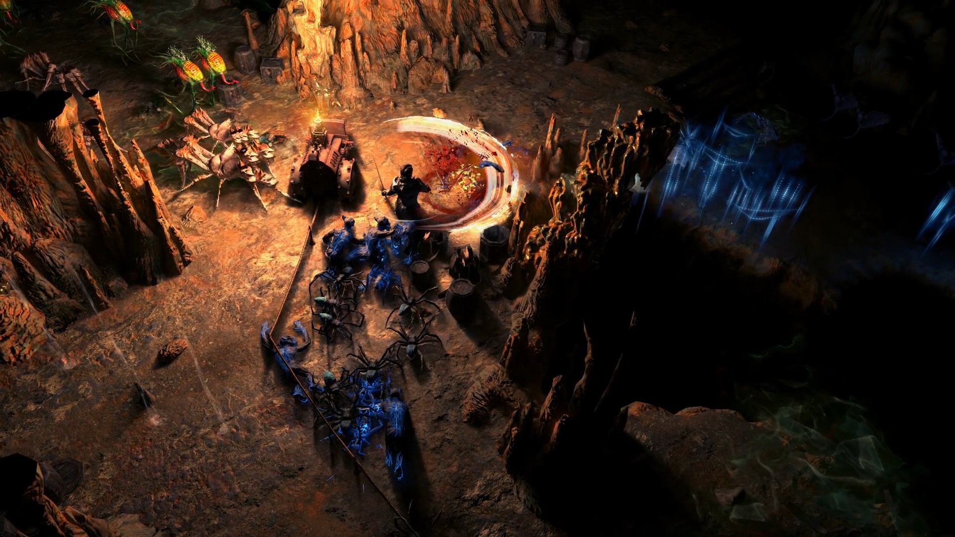 Path of Exile's endless dungeon expansion, Delve, is out now