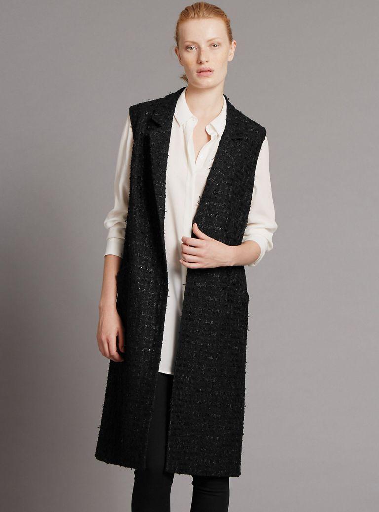 M&S Sleeveless Coat