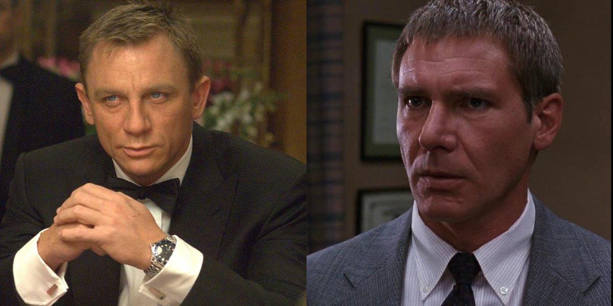 Wild New Deepfake Has Harrison Ford Playing Daniel Craig's Version Of Bond, James Bond
