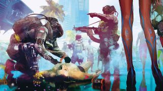 The origins of Cyberpunk 2077   PC Gamer