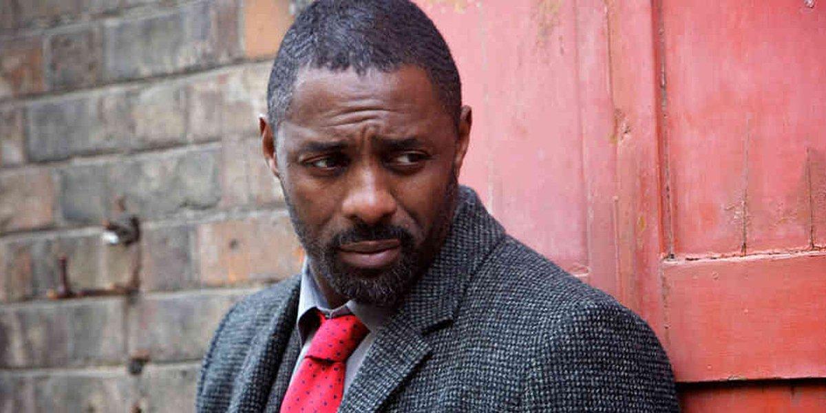 Idris Elba on Luther