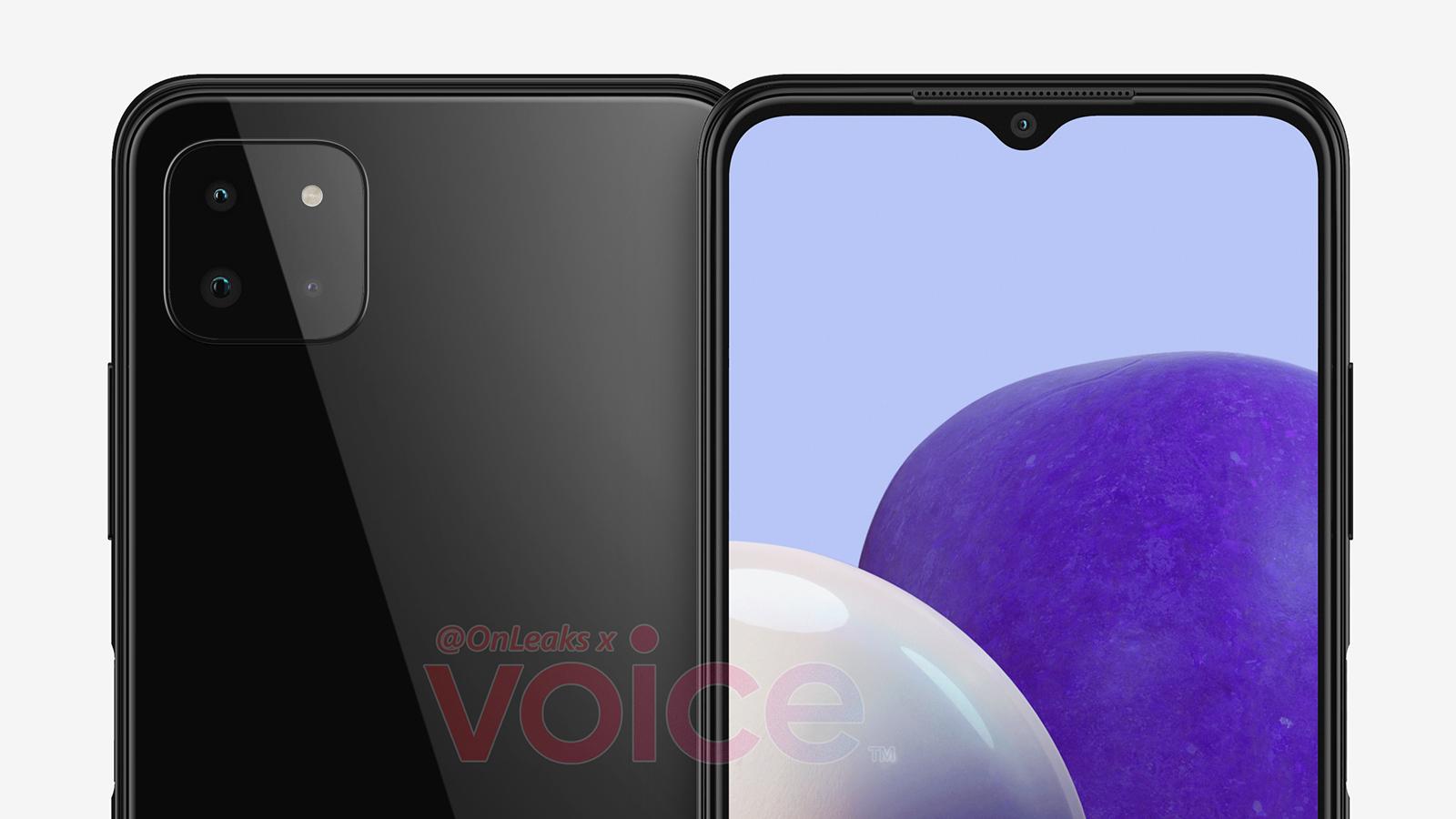 Samsung Galaxy A22 leak