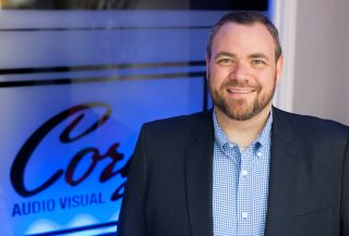 Cory's Audio Visual co-owner and CEO Brad Poarch