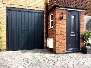 Side hinged garage door by Garador