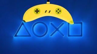 Banana as PlayStation controller