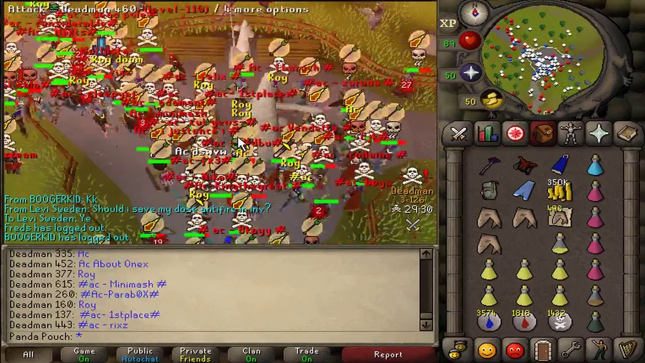 Old School Runescape celebrates the Falador Massacre glitch | PC Gamer