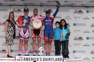 2015 ToAD women's overall podium - winner Tina Pic