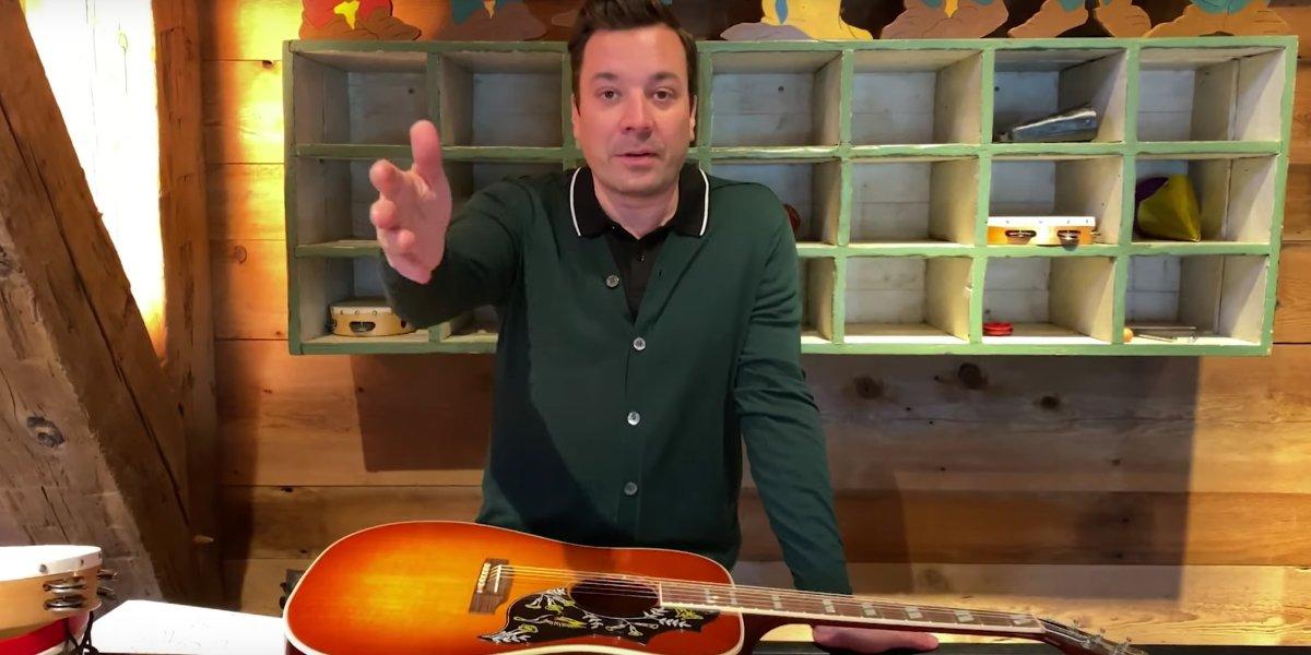 Jimmy Falllon on The Tonight Show